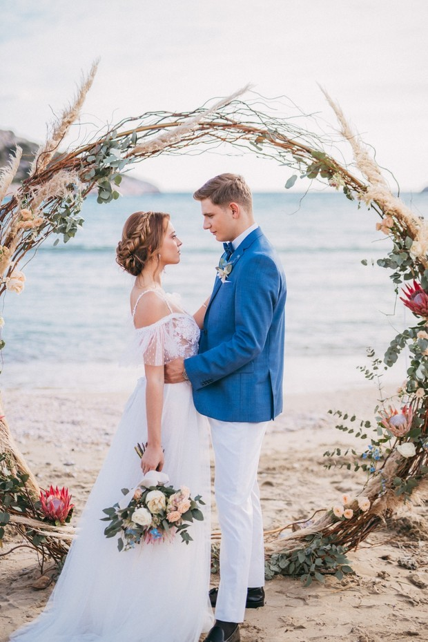 A Gorgeous Beach Wedding